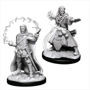 Dungeons & Dragons - Nolzur's Marvelous Unpainted Minis: Male Human Wizard | Games