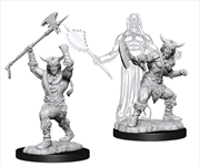 Dungeons & Dragons - Nolzur's Marvelous Unpainted Minis: Male Human Barbarian | Games