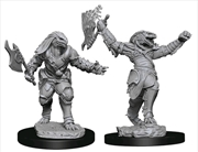 Dungeons & Dragons - Nolzur's Marvelous Unpainted Minis: Female Dragonborn Fighter | Games