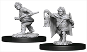 Dungeons & Dragons - Nolzur's Marvelous Unpainted Minis: Male Halfling Rogue | Games