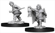 Dungeons & Dragons - Nolzur's Marvelous Unpainted Minis: Male Halfling Rogue | Games