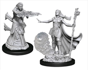 Dungeons & Dragons - Nolzur's Marvelous Unpainted Minis: Female Human Wizard | Games