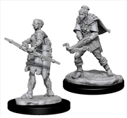 Dungeons & Dragons - Nolzur's Marvelous Unpainted Minis: Female Human Ranger | Games