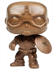 Captain America - Captain America Wooden Pop! RS | Pop Vinyl