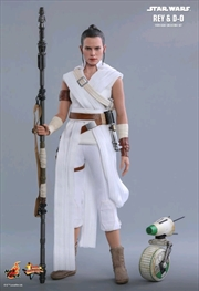 Star Wars - Rey & D-0 Episode IX Rise of Skywalker 1:6 Scale Action Figure Set | Merchandise