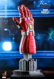 Avengers 4: Endgame - Nano Gauntlet 1:4 Scale Replica   Merchandise