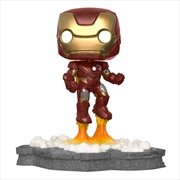 Avengers - Iron Man (Assemble) US Exclusive Pop! Deluxe [RS] | Pop Vinyl