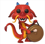 Mulan - Mushu with Gong Pop! Vinyl | Pop Vinyl