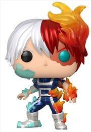 My Hero Academia - Todoroki Metallic US Exclusive Pop! Vinyl [RS] | Pop Vinyl