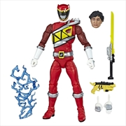 Power Rangers Dino Charge Lightning Collection Red Ranger Action Figure | Merchandise