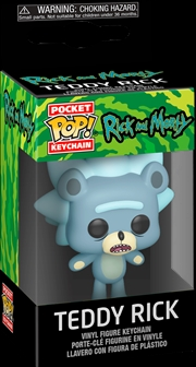 Rick and Morty - Teddy Rick Pocket Pop! Keychain | Pop Vinyl