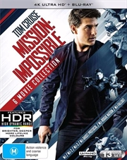 Mission Impossible | Blu-ray + UHD - 6 Movie Franchise Pack | UHD