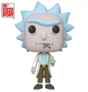 "Rick and Morty - Rick with Portal Gun US Exclusive 10"" Pop! Vinyl [RS] 