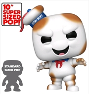 "Ghostbusters - Stay Puft Burnt US Exclusive 10"" Pop! Vinyl [RS] 
