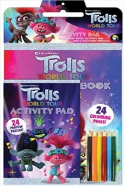 Trolls World Tour: Activity Bag | Paperback Book