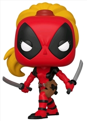 Deadpool - Lady Deadpool 80th Anniversary US Exclusive Pop! Vinyl [RS] | Pop Vinyl