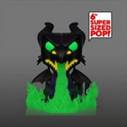 "Sleeping Beauty - Maleficent as Dragon with Flames Metallic Glow US Exclusive 6"" Pop! Vinyl [RS] 