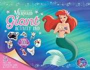 Little Mermaid: Giant Activity Pad | Paperback Book