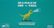 On A Scale of One to T-Rex (By Exploding Kittens) | Merchandise