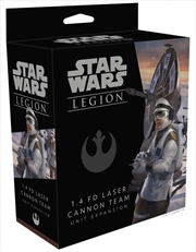 Star Wars Legion 1.4 FD Laser Cannon Team Unit Expansion | Merchandise