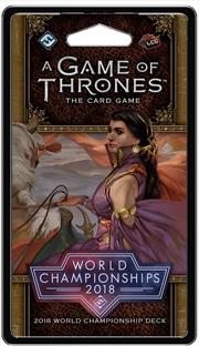 A Game of Thrones LCG - 2018 World Championship Deck | Merchandise