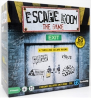 Escape Room the Game - 4 Rooms Plus Chrono Decoder | Merchandise