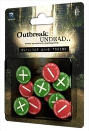 Outbreak Undead 2nd Edition RPG Survivor Game Tokens | Merchandise