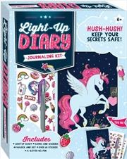 Unicorn Light Up Diary | Merchandise