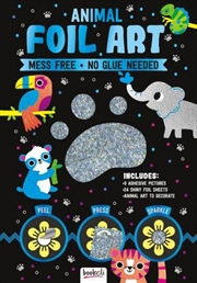 Sparkly Art Animal Foil Art | Merchandise