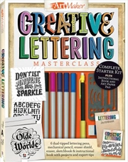 Art Maker Creative Lettering Masterclass Kit (portrait) | Merchandise