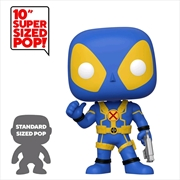 "Deadpool - Thumbs Up Blue US Exclusive 10"" Pop! Vinyl [RS] 