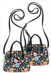 Alice in Wonderland - Flowers Crossbody Bag   Apparel