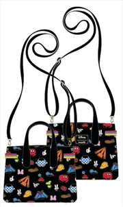 Mickey Mouse - Outfits Crossbody Bag | Apparel