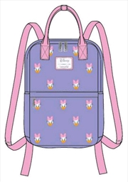 Mickey Mouse - Daisy Duck Face Print Backpack | Apparel