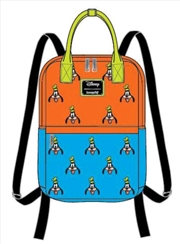 Mickey Mouse - Goofy Face Print Backpack | Apparel