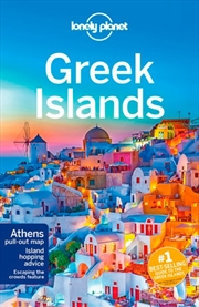 Lonely Planet - Greek Islands Travel Guide | Paperback Book