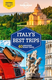 Lonely Planet Italy's Best Trips Travel Guide | Paperback Book