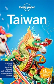 Lonely Planet Taiwan Travel Guide | Paperback Book
