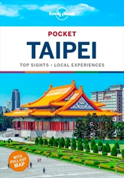 Lonely Planet Pocket Taipei Travel Guide | Paperback Book