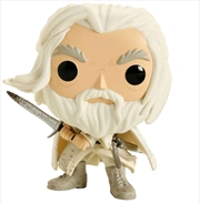 The Lord of the Rings - Gandalf the White with Sword US Exclusive Pop! Vinyl [RS] | Pop Vinyl