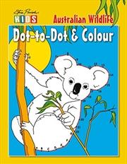 Steve Parish Dot-to-Dot Colouring Book: Australian Wildlife | Paperback Book