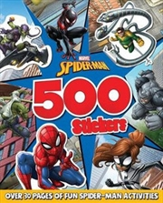 Spiderman: 500 Stickers | Paperback Book