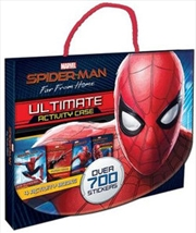 Spider-man Far From Home Ultimate Activity Case | Hardback Book