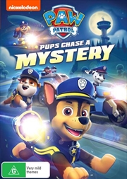 Paw Patrol - Pups Chase A Mystery | DVD