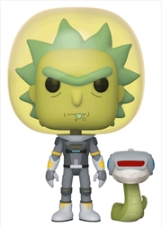 Rick Space Suit With Snake | Pop Vinyl