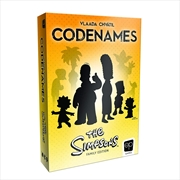 Simpsons Codenames | Merchandise