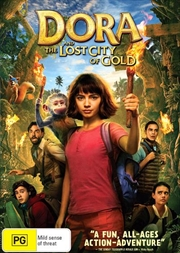 Dora And The Lost City Of Gold | DVD