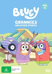 Bluey - Grannies And Other Stories - Vol 4 | DVD