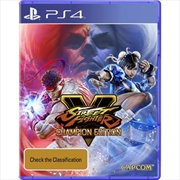 Street Fighter V Champion Edition | PlayStation 4