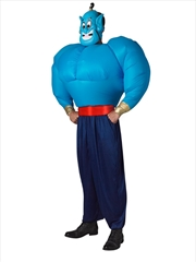 Genie Adult Inflatable Costume - Standard | Apparel